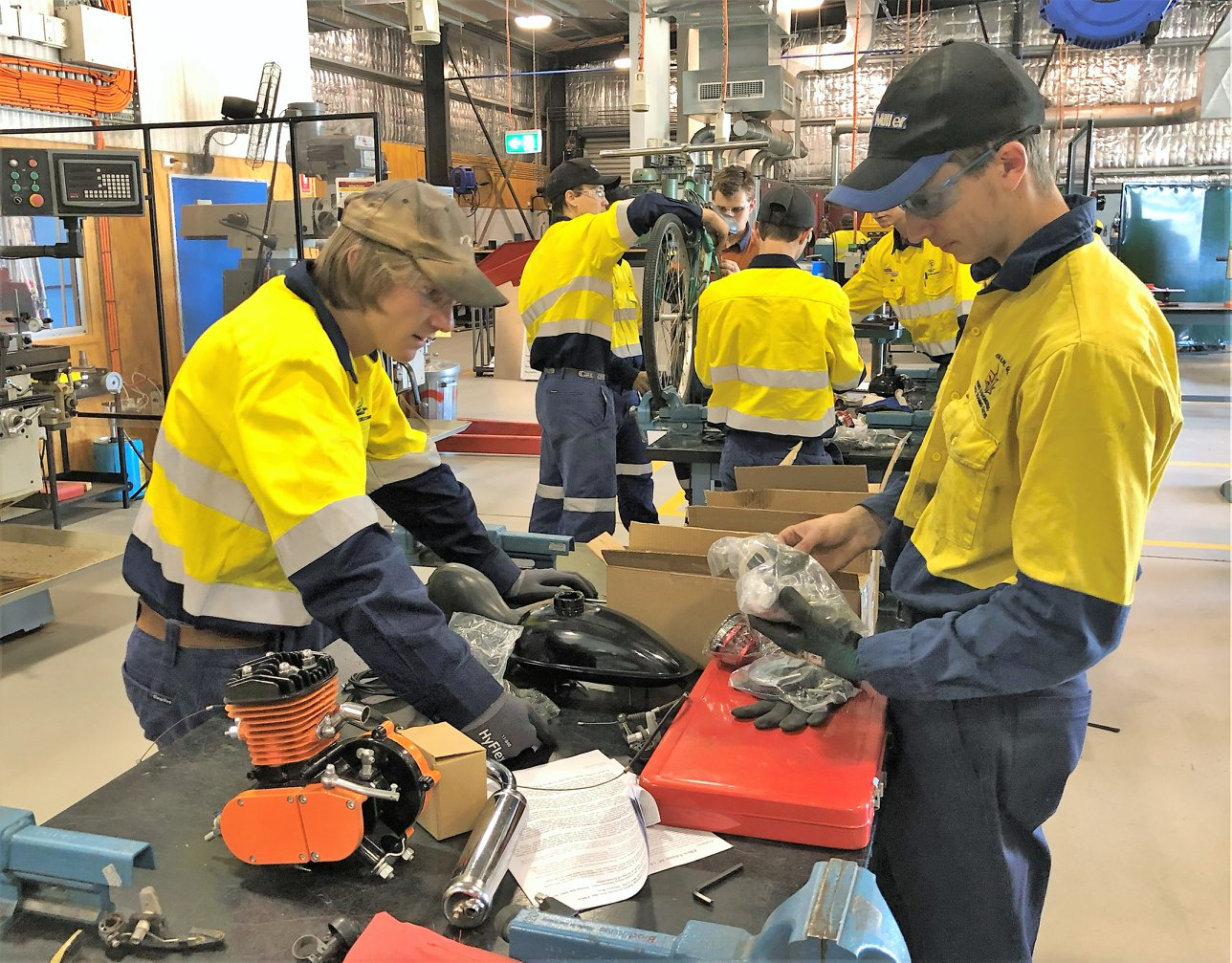 Students go mining for careers – QMEA