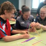 Beakers. Bot. Build activity at Moura State High School